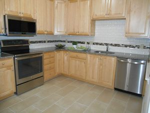Upgraded kitchen at Amberley at Blue Bell