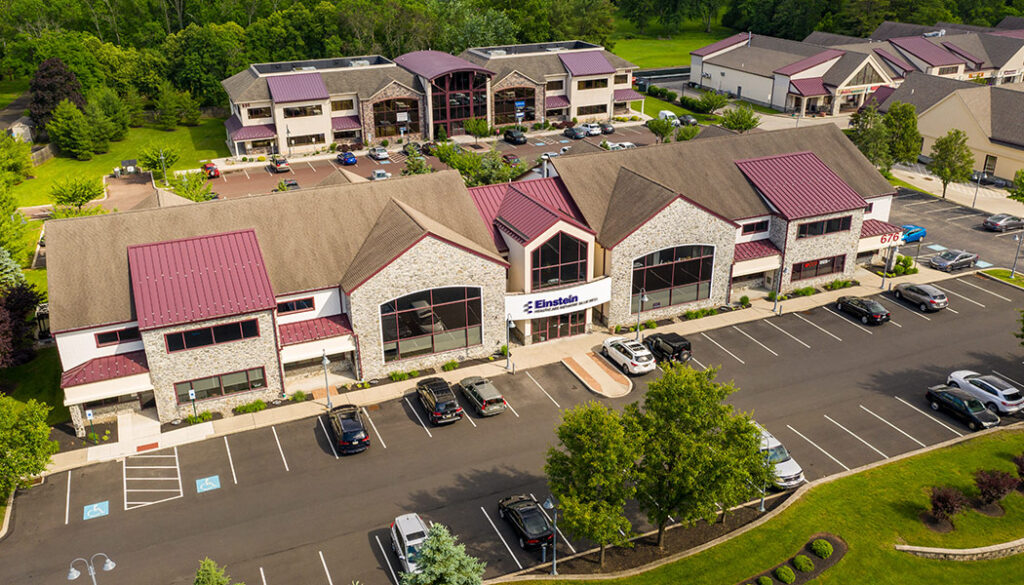 Aerial view of Professional offices at Village Square